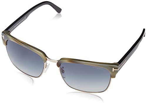 ae547ea409 Tom Ford STF.00367.60B.57 Gafas de Sol para Hombre, color Azul, 57 ...