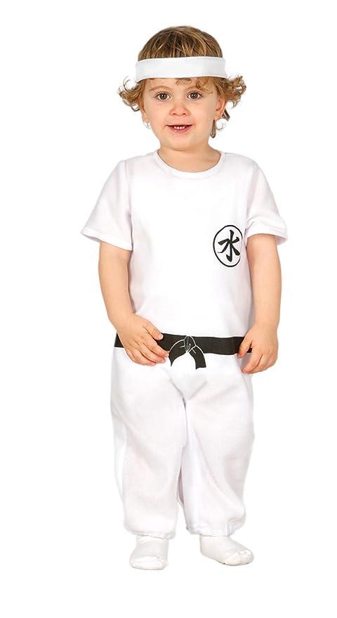 Guirca - Disfraz de Kung Fu con traje y cinta, para niños de ...