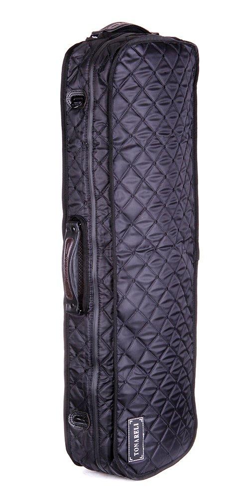 Tonareli Violin Case Cover for oblong fiberglass cases - Black