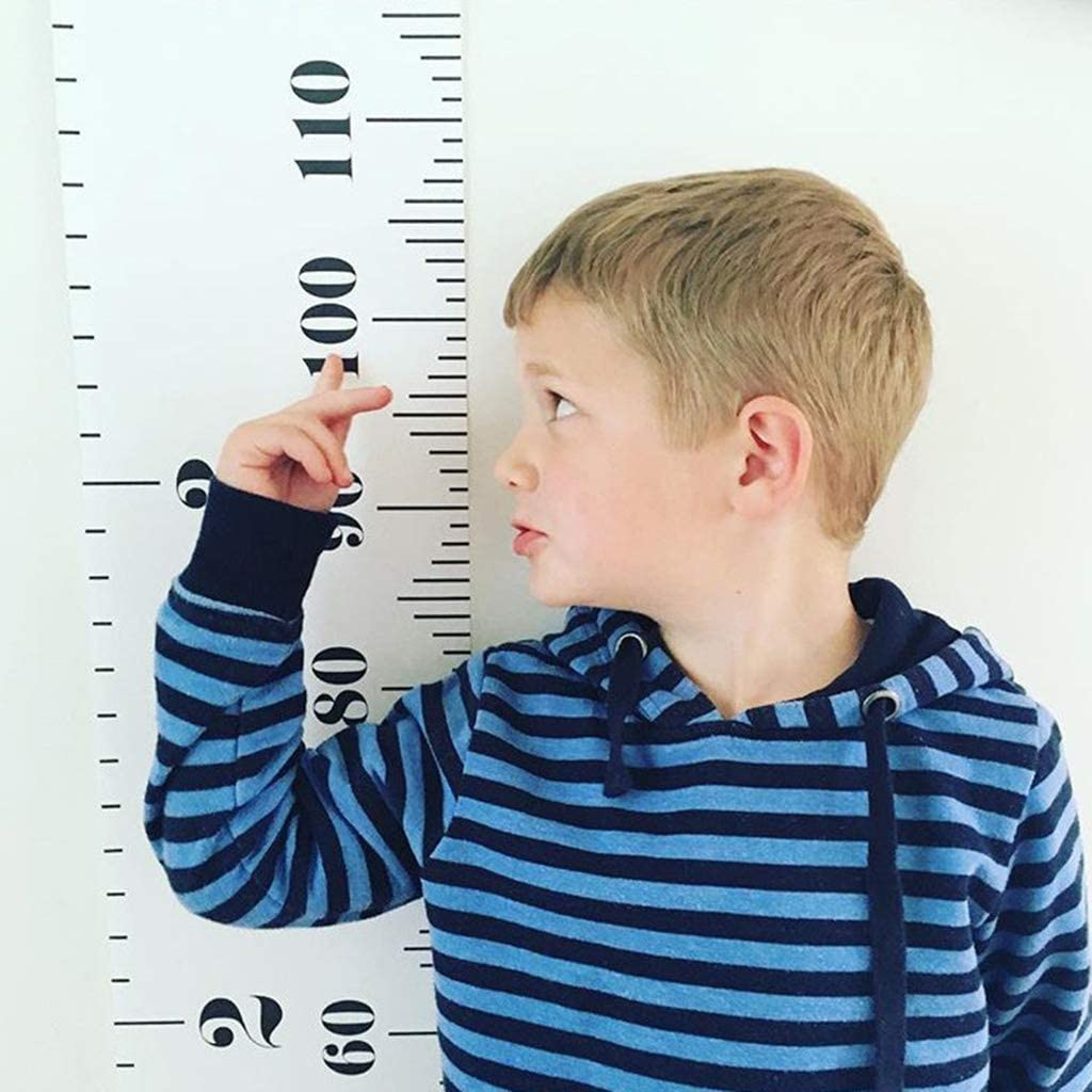 niumanery Baby Kids Measure Height Ruler Children Growth Chart Ruler Wall Hanging Decal 02#