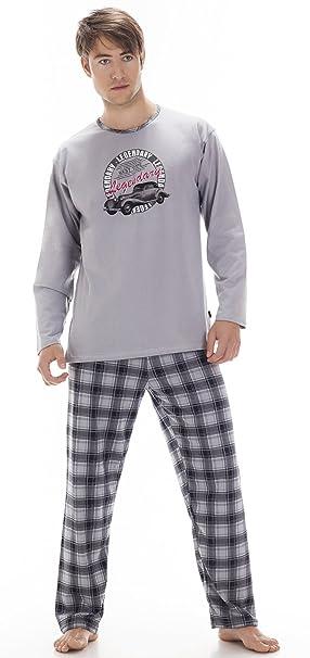 Cornette Pijamas Dos Piezas para Hombre CR-124-Legendary (Gris, XXL): Amazon.es: Ropa y accesorios