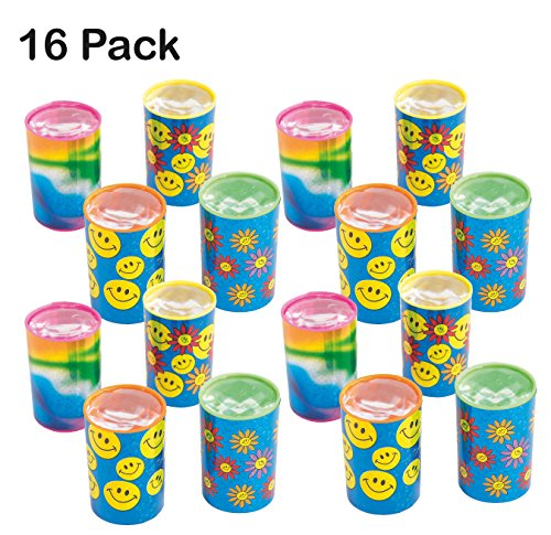 Mini Kaleidoscope Prism Toy 1.75 Inches - Pack Of 16 - Assorted Colors And Designs Mini Prism - For Kids Great Party Favors, Bag Stuffers, Fun, Gift, Prize - By (Fun Christmas Party Ideas)