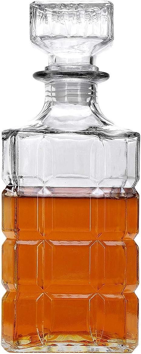 Decantador de licor, decantador de whisky para tequila, vodka ...
