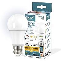 Garza ® Smarthome - Bombilla LED Estandar Inteligente Wifi E27, luz blanca neutra regulable con cambio de intensidad…