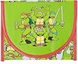 TMNT Group Green Reusable Thermal Sandwich Lunch Bag