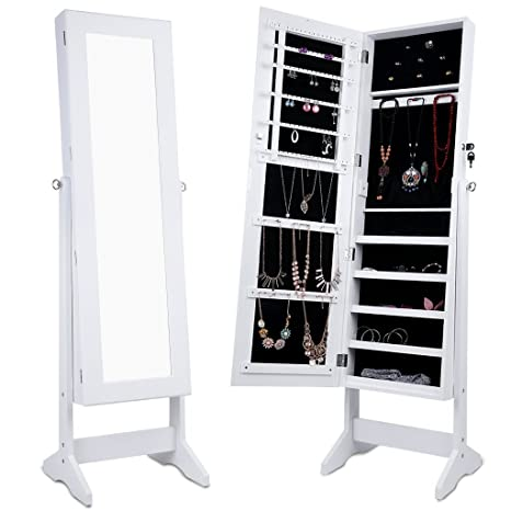 The 8 best white jewelry armoire under 100