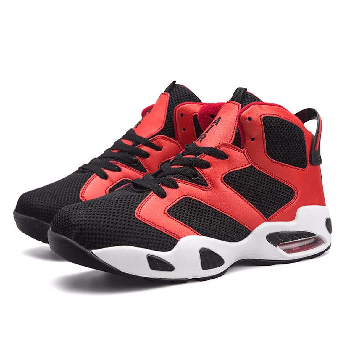 KMJBS-Atmungsaktive Schuhe Basketball - Schuhe Luftkissen Stiefel Verschleißfest Mesh - Ultraleicht - Sport und Ein Paar Schuhe.