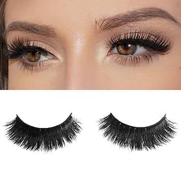 7b55b4ec55a Amazon.com : Milanté BEAUTY Exotic Real Mink False Lashes Black Natural  Thick Long Full Reusable Fake Strip Eyelashes : Beauty