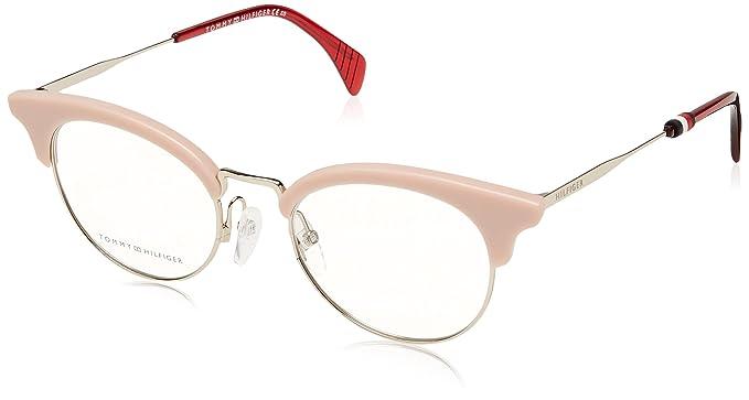 88ced94d3b934 Tommy Hilfiger Montura de gafas - para hombre Plateado Silber - Rosa Small   Amazon.es  Ropa y accesorios