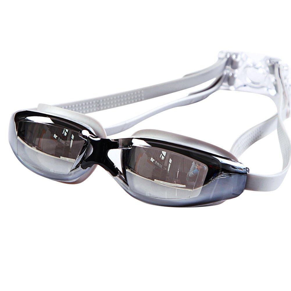 Guoainn Unique Sport Swimming Goggles Glasses Waterproof Anti-Fog Anti-UV Protection Eyewear