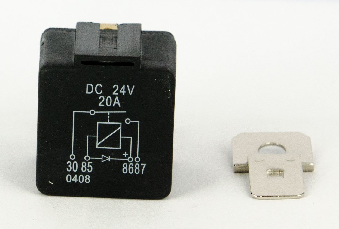 Mini Relay 24V, 20A, Closer with Diode?Pack of 10 Wittrin Electronic