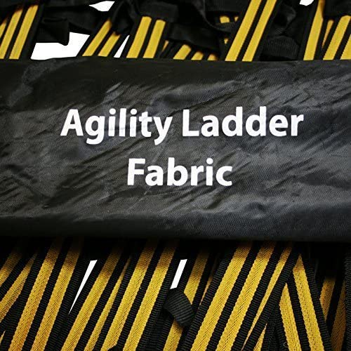 Uber Soccer Speed and Agility Training Ladder – Fabric Covered Metal Rung – 30 Foot or 13 Foot