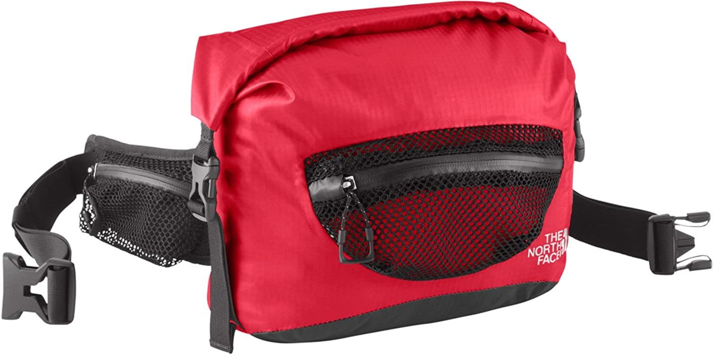 Fabriksnye North Face Waterproof Lumbar Waist Pack - TNF Red - One Size UE-17
