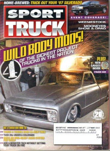 Sport Truck Magazine, May 2008 (Vol 21, No - Pics Tom Ford