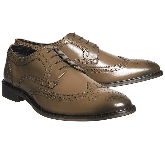 Office Chaussures de Ville à Lacets pour Homme - Ecru - Marron Clair Cuir,   Amazon.fr  Chaussures et Sacs 8c7b7302f761