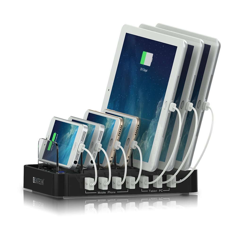 7-Port USB Charging Station