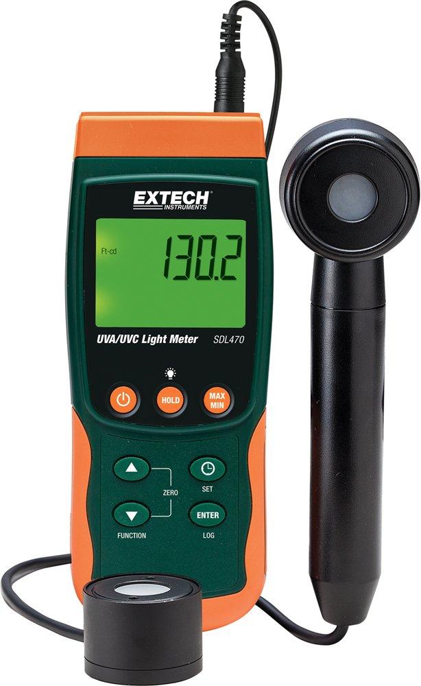 Extech SDL470 UVA/UVC Light Meter Datalogger by Extech