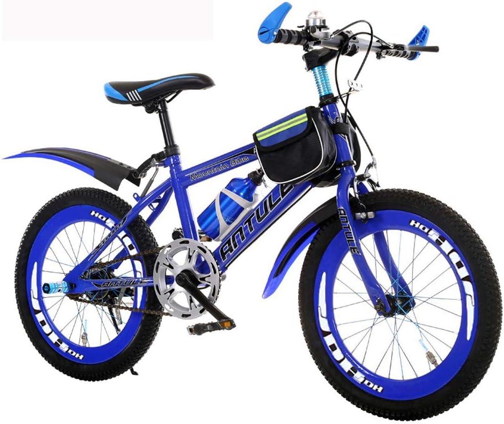 子供用自転車6-15歳の可変速度自転車ダブルブレーキボーイ20/22インチ小学校マウンテンバイクとやかん