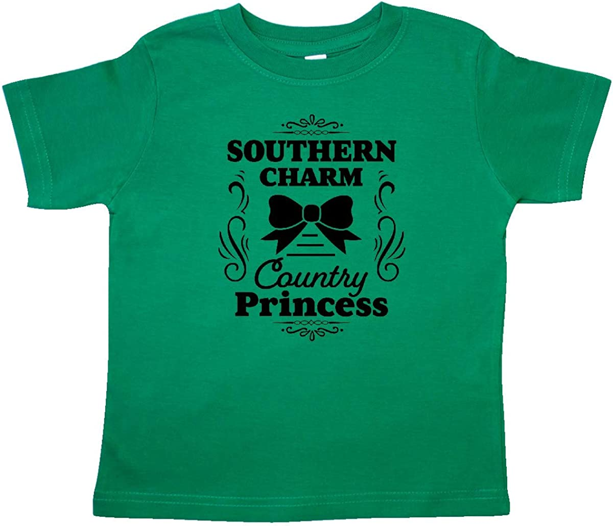 inktastic Southern Charm Country Princess with Bow Toddler T-Shirt