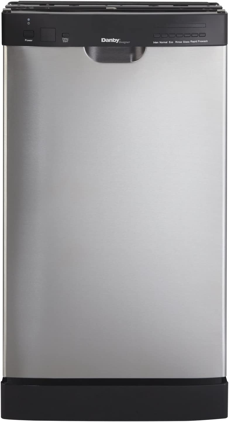 Danby DDW1802EBLS Compact Dishwasher, Stainless