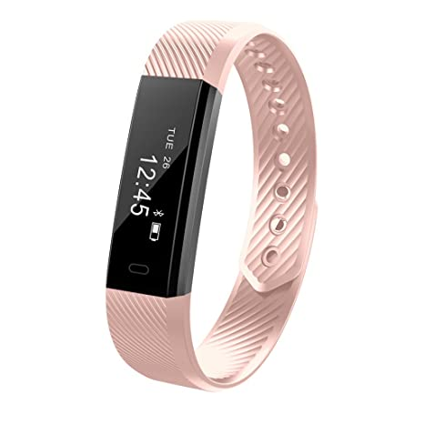 YFish Reloj de Actividad Inteligente Pulsera Deportiva Despertador Fitness Monitor Smartwatches con Pantalla Táctil Bluetooth Conecta