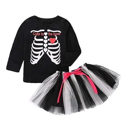 Amazon.com: Conjunto de disfraz de Halloween para niña ...