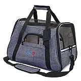 senye Pet Carrier Dog Cat Soft Sided Small Puppy Travel Bag