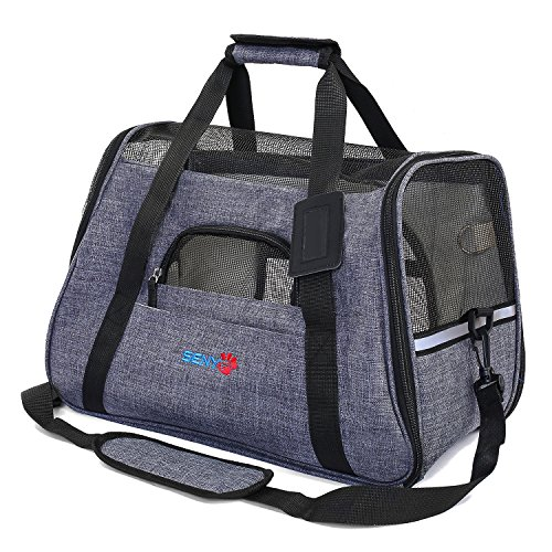senye Pet Carrier Dog Cat Soft Sided Small Puppy Travel Bag