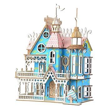 Cbcigbudg 1 Juego Dream Villa DIY ensamblado Modelo de ...