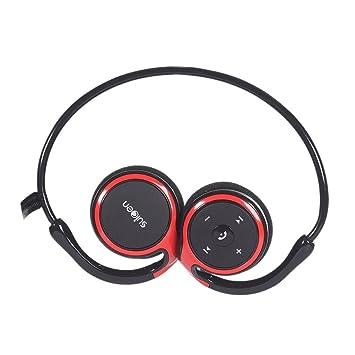 Auriculares Bluetooth, Kool(TM) Rojo Auriculares Deportivos ...