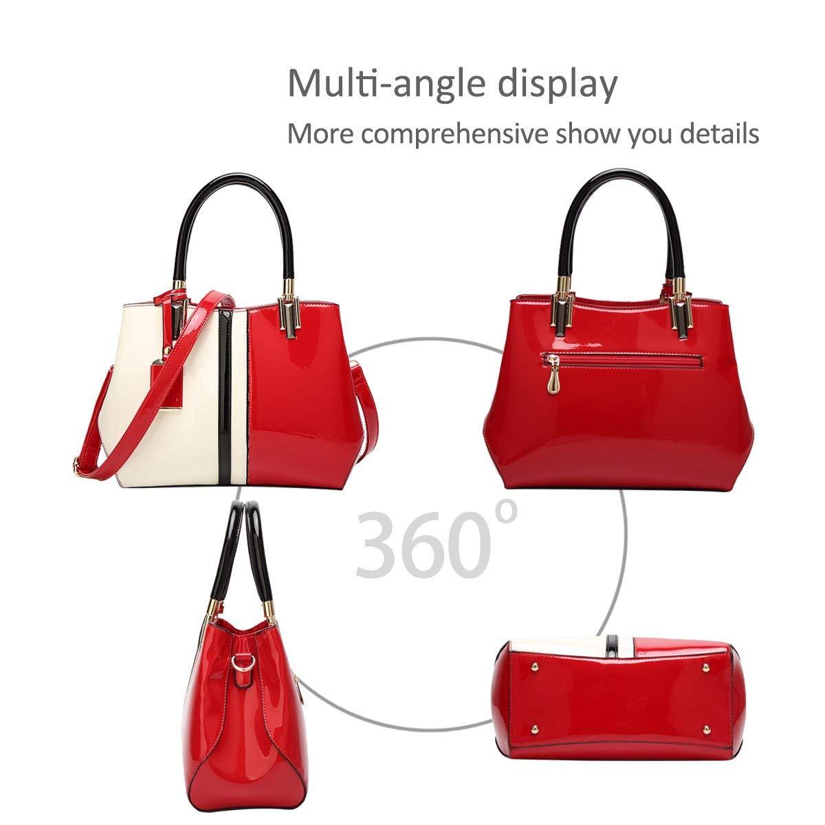 Neu Dame Handtaschen Reisetasche Schultertasche Taschen Taschen Taschen Umhängetasche PU (Rot) B07QC2PDHM Schultertaschen Wert 696b08