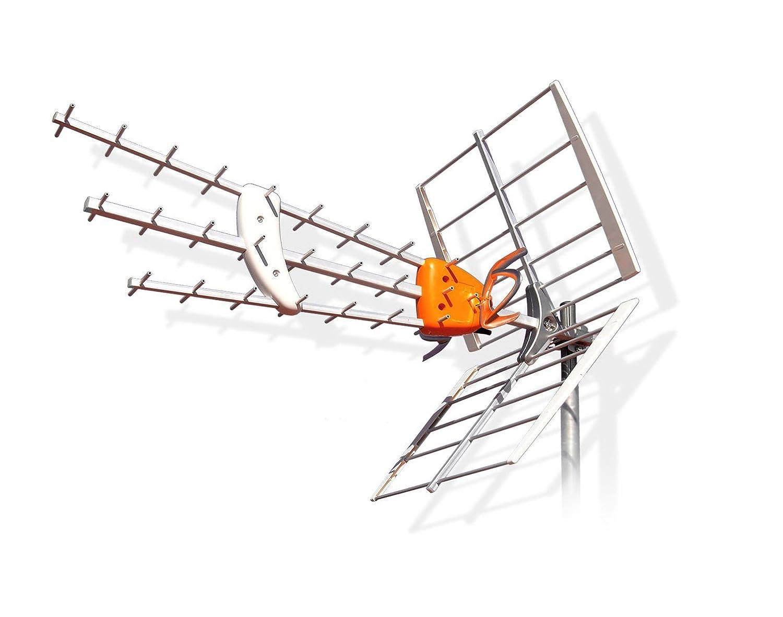 TELEVES - Antena Exterior Dat Hd De Uhf Televes: Amazon.es ...