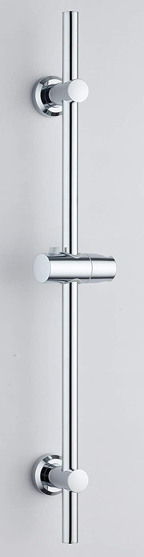 Adjustable Shower Slider Riser Rail Chrome Shower Head Holder Stainless Rail