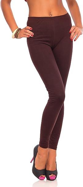 Amazon.com: Futuro Fashion leggings largos de algodón ...