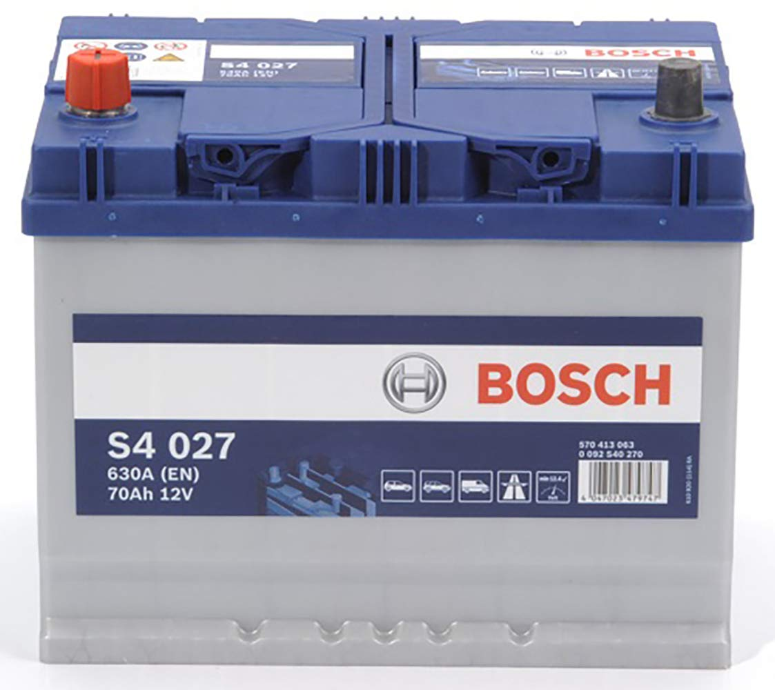 Bosch S4027 Batteria Auto 70A//h-630A