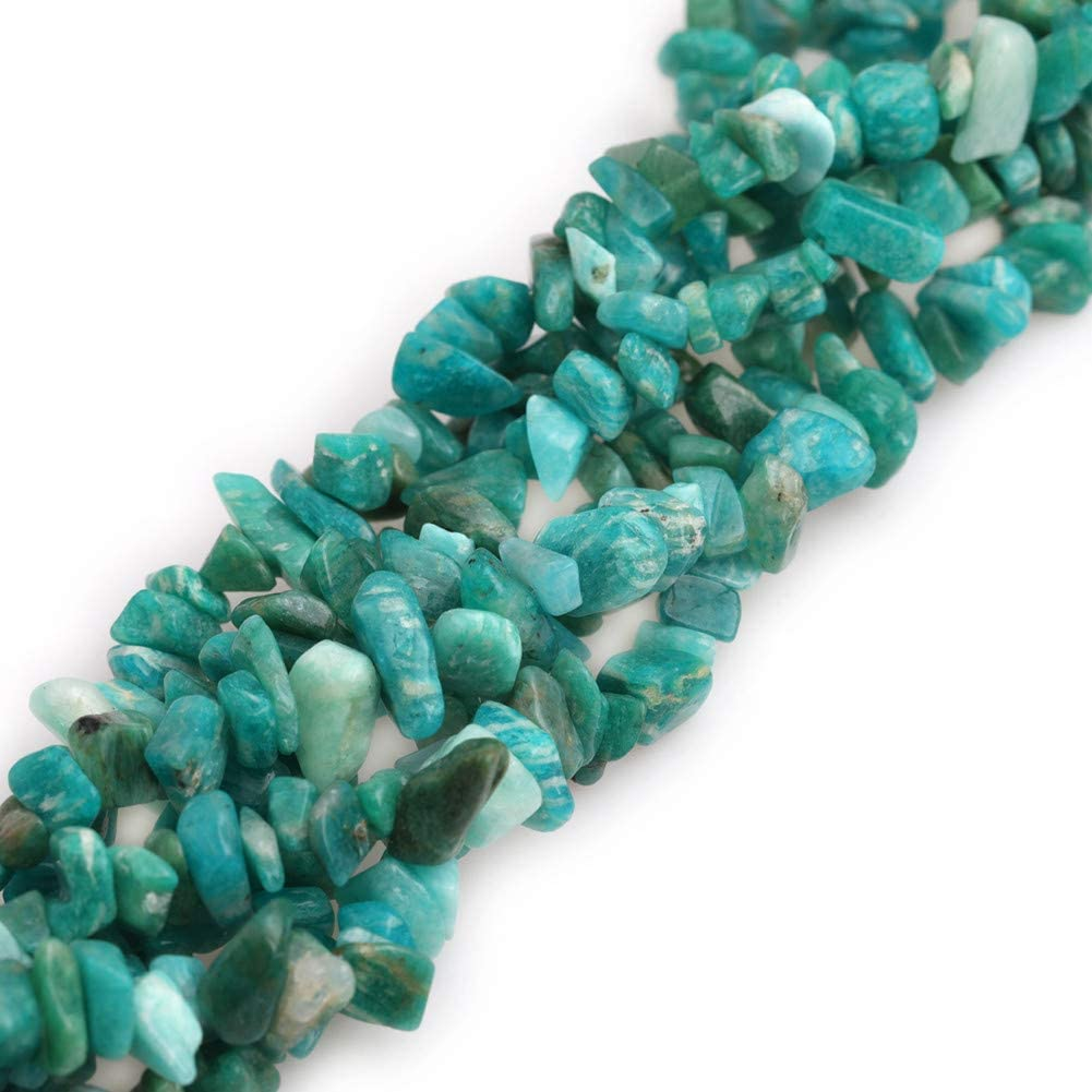 """7.8/"""" LightGreen Electroplated Natural Quartz Chips Beads Gemstone Beads Spacer"""