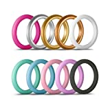 kingfishertrade-ltd 10 Pack Silicone Rings For
