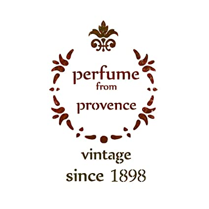 J BOUTIQUE STENCILS Perfume From Provence Stencil Shabby Chic Airbrush Template For Crafting Decor