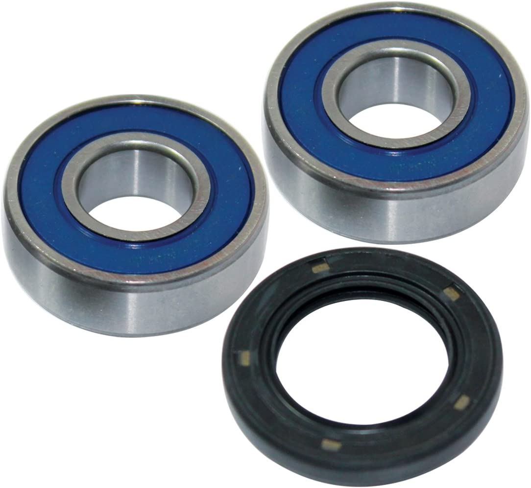 Caltric Front Wheel Ball Bearings /& Seal Kit for Suzuki Dr350 Dr-350 1990-1996
