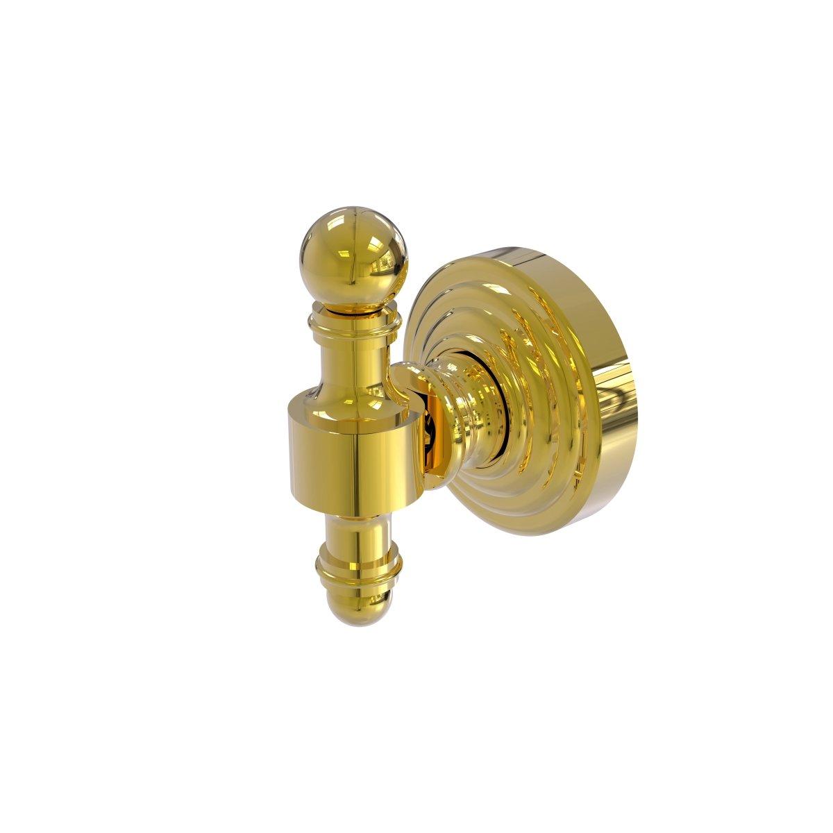 (Unlacquered Brass) RW-20-UNL Retro Wave Collection Robe Hook, Unlacquered Brass B06X9WX2K1ラッカーなし真鍮
