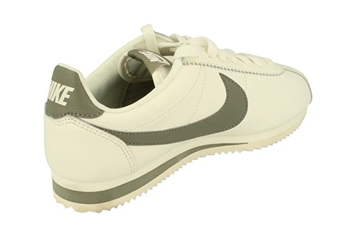 size 40 1fc1e d3588 NIKE Classic Cortez Leather SE Mens Running Trainers 861535 Sneakers Shoes  (UK 6 US 7 EU 40, sail Dark Stucco 105)  Amazon.co.uk  Shoes   Bags