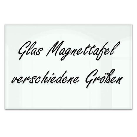 Master of Boards® Glas Magnettafel Lissabon - 5 Größen wählbar - 60x80cm