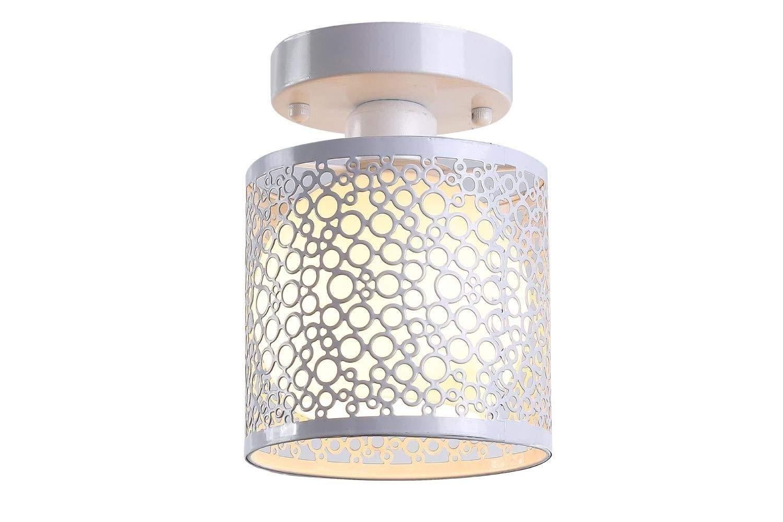 Casa perfetta Lámpara de techo moderna lámpara E27 Industrial ...