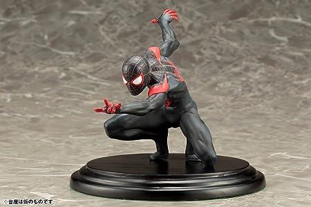 Kotobukiya - Figura Marvel Spiderman Negro y Rojo