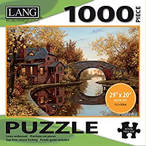 Jigsaw Puzzle 1000 Pieces 29x20 House By The River