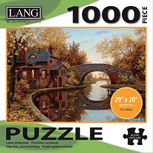 1000 piece puzzles river - 3