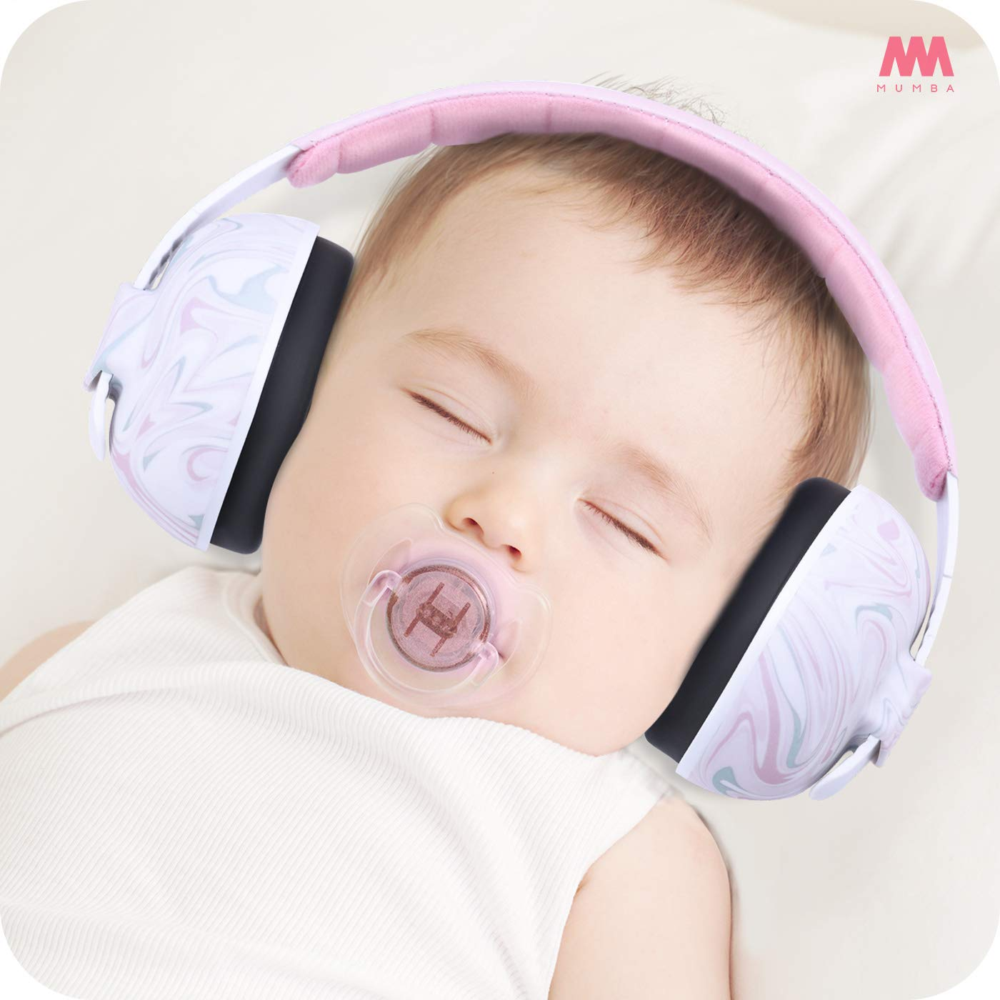 Mumba Baby Ear Protection - Adjustable Noise Cancelling Baby Headphones(0-3+ Years)