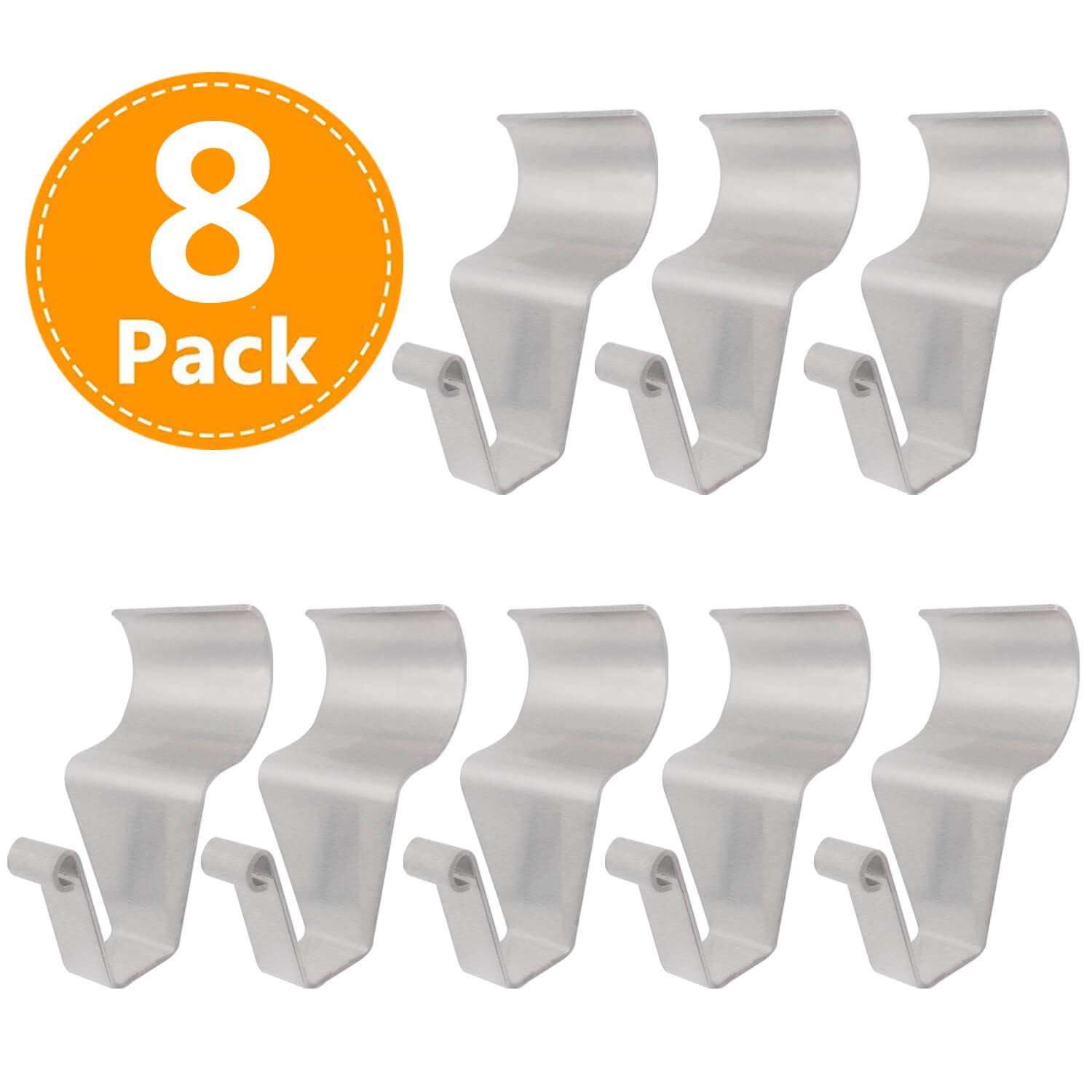 Vinyl Siding Hooks for Hanging Heavy Duty Light Mailbox Planter Hanger 8 Pack
