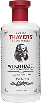 Thayers Alcohol Free Lavender Facial Toner with Aloevera 12 Ounce