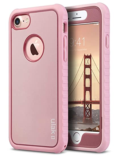 sports shoes f4227 be36b ULAK iPhone 8 & 7 Case Shock-absorbing Flexible Durability TPU Bumper Case,  Durable Anti-Slip, Front and Back Hard PC Defensive Protection Cover for ...